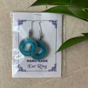Jewelry - Handmade Earrings from India Beautiful Blue